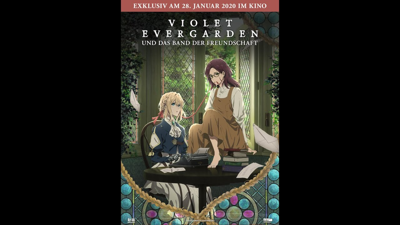 Violet Evergarden (Official Trailer deutsch 30 Sek.)