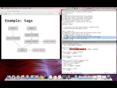 Drake: data workflow management tool