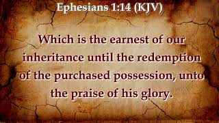 THE BRIDE PRICE ESPOUSED TO CHRIST & CONSUMMATION OF THE MARRIAGE FULLNESS OF THE SPIRIT OF CHRIST thumbnail