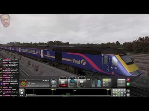 SWEARY TRAIN SIMULATOR (London-Oxford Class 43 HST, Class 166)