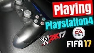 PlayStation 4 (My Friend`s PS4 Gaming Parlour) | MUMBAI INDIA