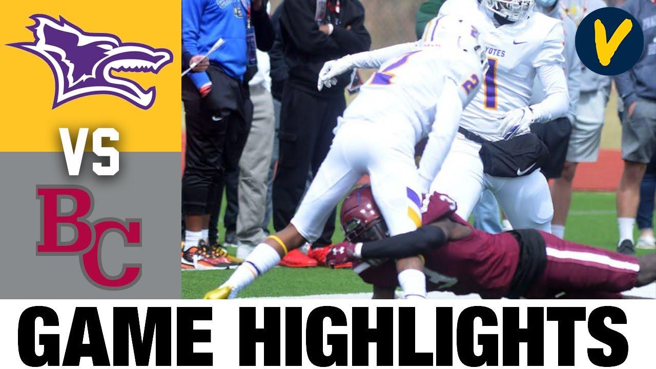 Kansas Wesleyan vs Bethel Highlights | NAIA 2021 Spring College Football Highlights