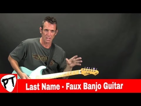 Last Name - Carrie Underwood - How To Play Guitar Lesson - Faux Banjo