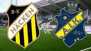 AIK MOT SM-GULD | HÄCKEN - AIK | POÄNGTAPP!