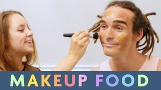 Makeup Food with Alexa