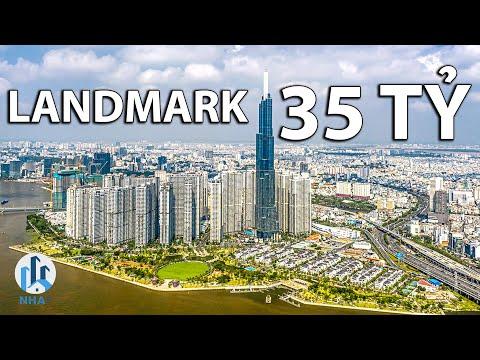 """Căn Hộ Landmark 81 """"ĐỘC BẢN"""" Trị Giá 25 TỶ rộng 173m2 tại Vinhomes Central Park, TP. HCM – NhaF [4K]"""
