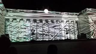 Световое шоу на стенах мэрии на Думской площади 3 часть 2016 09 03 18 42 38