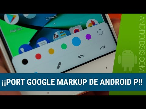 Port Google Markup de Android P