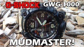 Casio G-Shock Mudmaster GWG-1000DC-1A5 Review - Perth WAtch #74