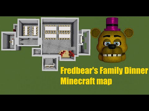 [FNaF speed build]Minecraft: Fredbear's Family Dinner V0.1