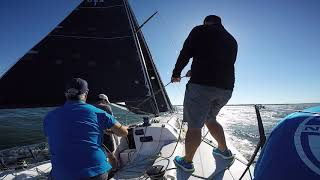 Power Reaching with 3Di RAW Sails and Asymmetric Spinnaker on a J/121