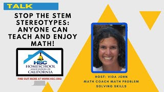 HSC 2020 Virtual Conference Stop STEM Stereotypes