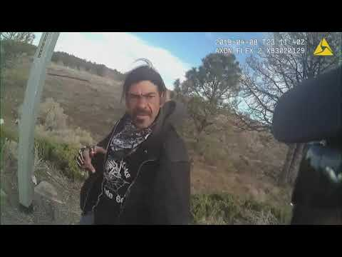 Body cam: Flagstaff police officer shoots suspect after getting pepper sprayed