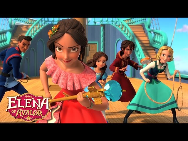Theme Song 🎶  | Elena of Avalor | Disney Channel