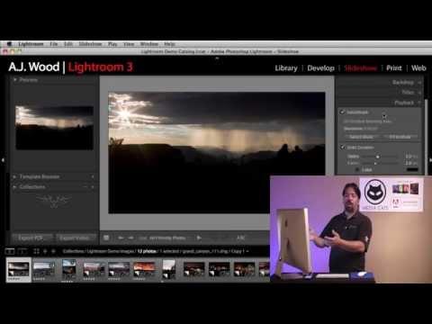 Lightroom 3 - Export Video Slideshow