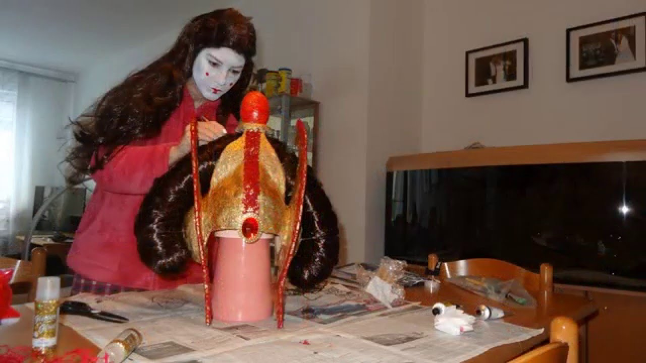 How to make Queen Amidala Crown - YouTube