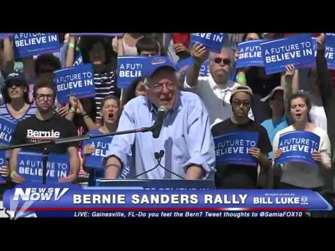 Bernie Sanders Speaks at Rally in Gainesville, FL - FULL - FNN