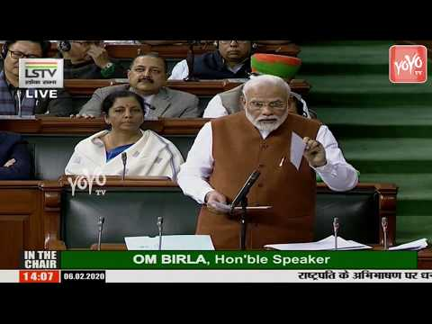 pm-modi-speech-about-jawaharlal-nehru-on-caa-at-parliament-budget-2020-|-yoyo-tv-kannada