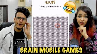Big Brain Mobile Games vs My Sister