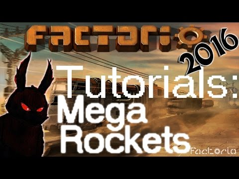 Factorio 2016 How to►Modular Rocket Production Tutorial (3.5 minutes per launch)◀ [60fps, 1080p]