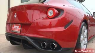 Ferrari FF Start and Rev
