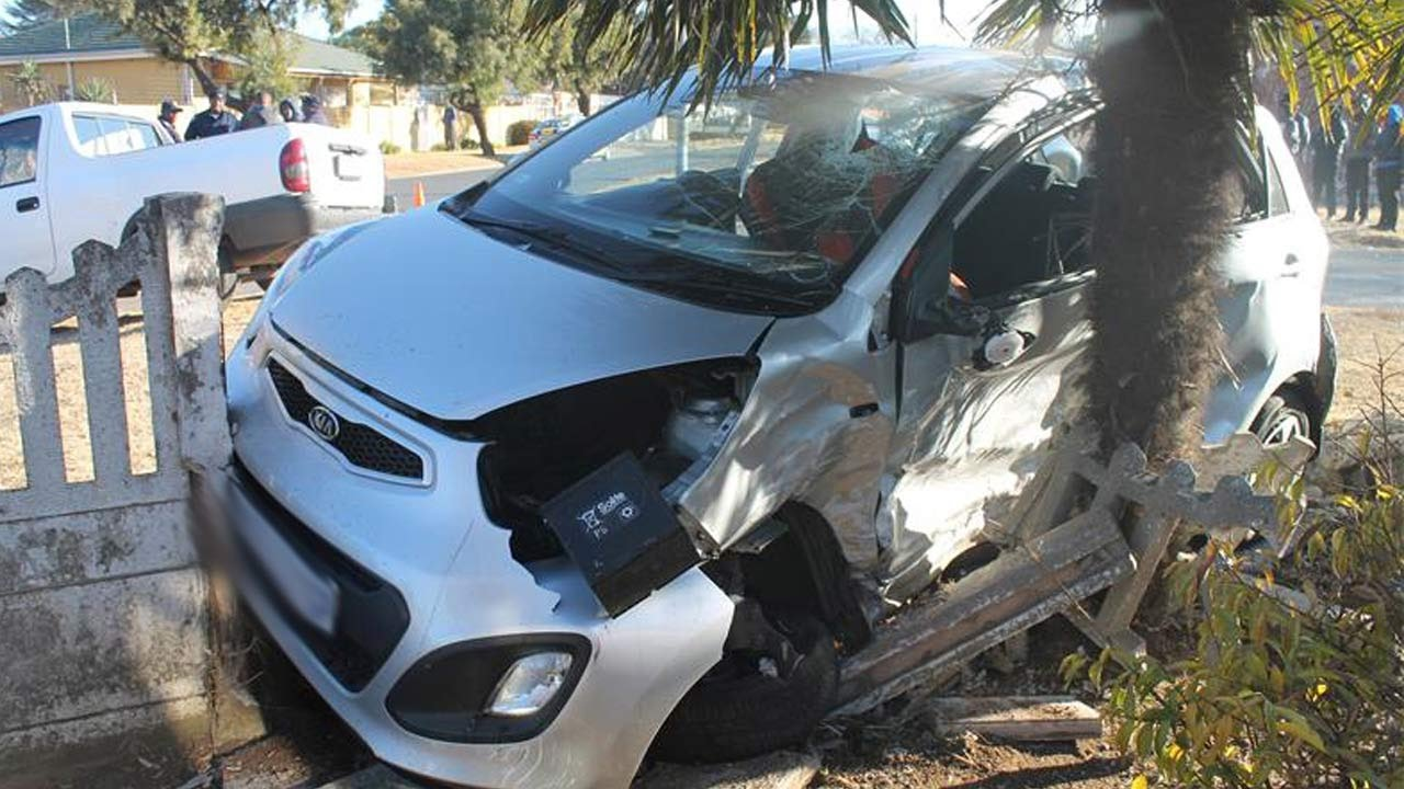 Latest Car Accident Of Kia Picanto Road Crash