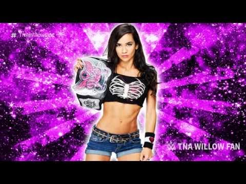 WWE AJ Lee 4th & Last Theme Sg Lets Light It Up 2015 Lg Intro