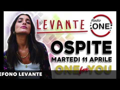 Levante - RADIO ONE - Intervista - 11 - 04 - 2017