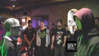 Rhyme And Punishment Battle League ~ Rap Battle ~ Noah Carter VS BRLewis ~ (2016) HPD ~ 44NS