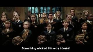 Double Trouble - Hogwarts Choir - Prisoner of the Azkaban (full lyrics)