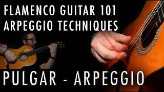 Flamenco Guitar 101 - 18 - Arpeggio and Pulgar