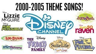 2000-2005 Theme Songs! | Throwback Thursday | Disney Channel