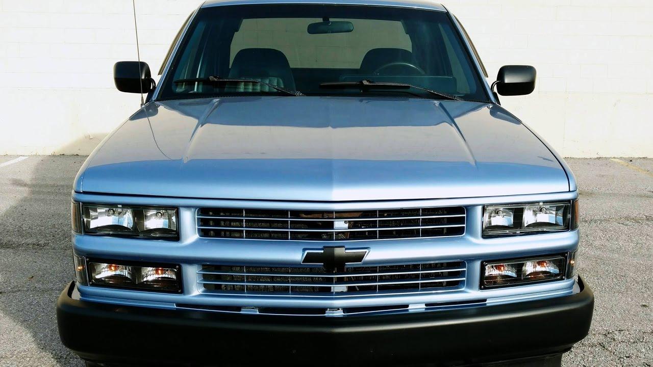 1994 Chevy Silverado Z71 - Flowmaster Dual Exhaust - TBI 350 ...