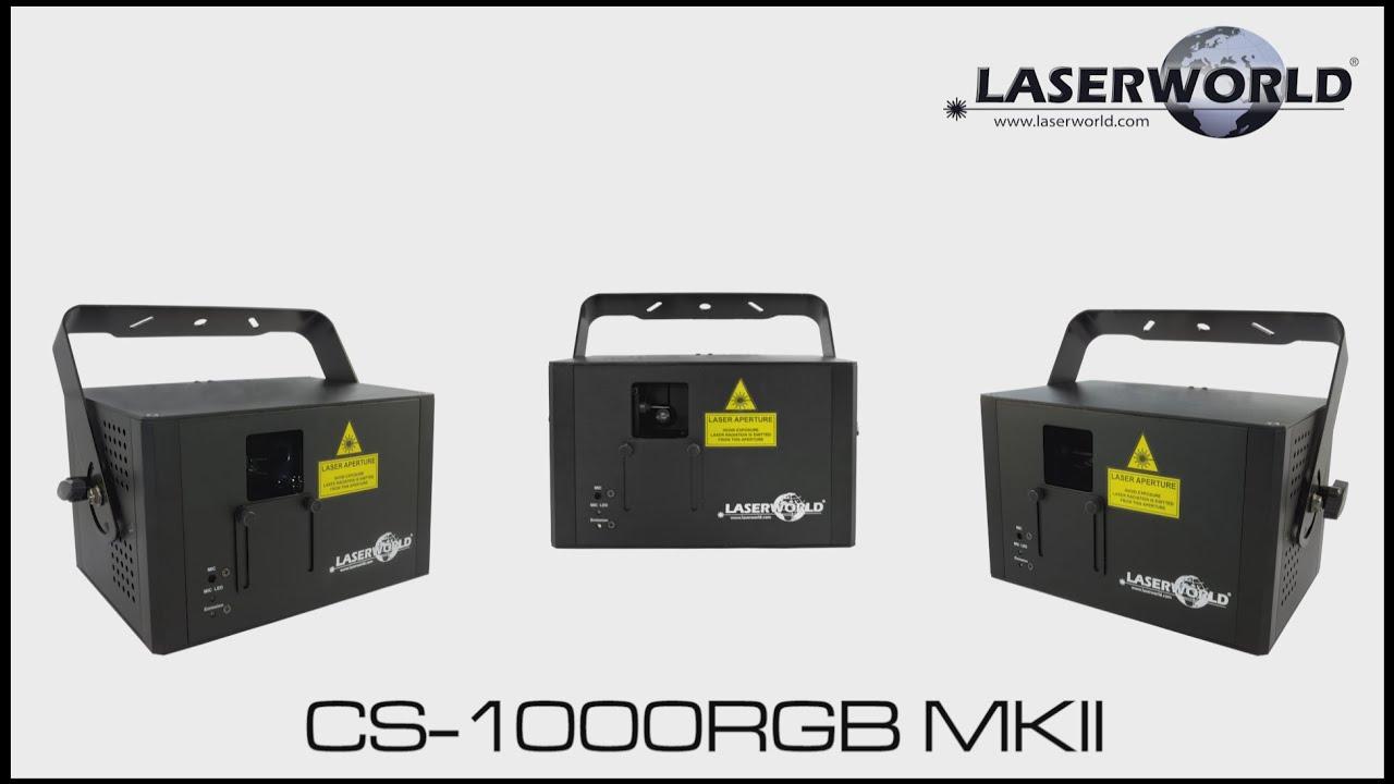 Laserworld CS 1000RGB MKII show laser light
