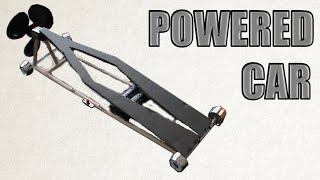 How to Make a Powered Car - DIY Powered Car