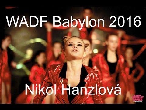 Nikol Hanzlová Babylon 2016 WADF - mistrovství světa
