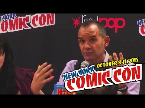 Get Out of Your Chair and Off the Planet! panel at NY Comic Con 2015 | papercuts Special Events