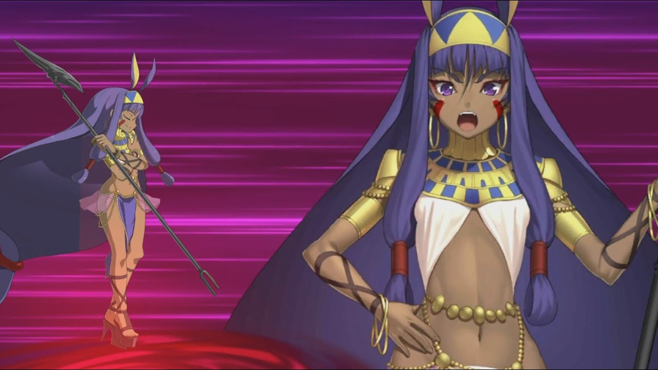 Fate Grand Order ニトクリス 宝具 exアタック Fgo Nitocris Noble Phantasm Exattack Fatego Youtube