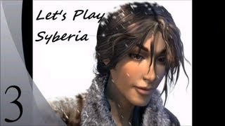 Let's Play Syberia (Blind) - Episode 3 - Voralberg's mansion and attic, drawing mammoth for momo