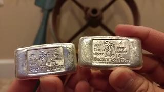 4 oz beaver bullion bars 10 oz rmc silver bar rounds