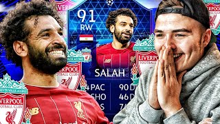 91er SALAH TOTGS SQUAD BUILDER BATTLE 🔥 (absolut lost) FIFA 20
