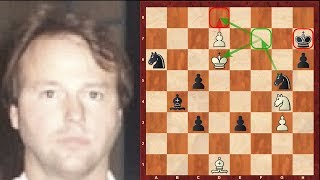Amazing Immortal Chess Endgame - Jim Plaskett