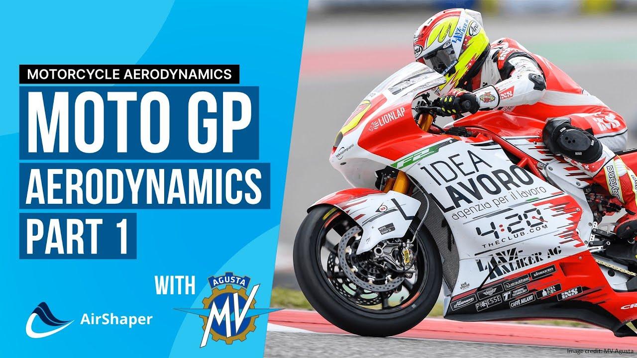 Race Talk with MV Agusta - Top Aerodynamic Priorities for moto GP bikes