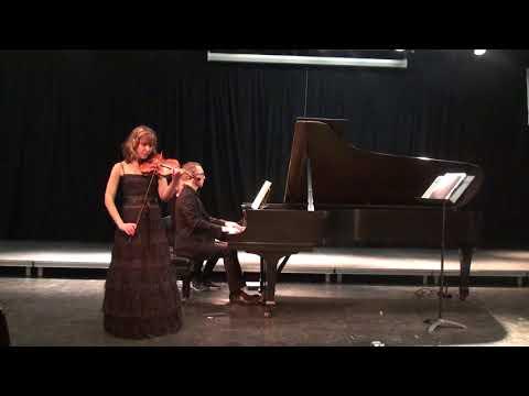 Chausson.Poeme.op.25 /Dina Nesterenko & Matthieu Cognet/Stony Brook University,New York