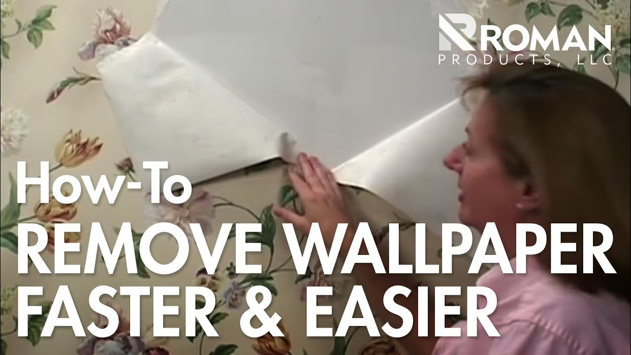 How to Remove Wallpaper - YouTube