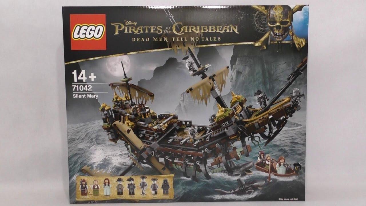 Lego Disney Piraci Z Karaibów 71042 Cicha Maria Youtube