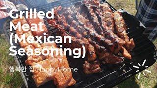 멕시칸 얌념 돼지갈비  Meat (Mexican sea…