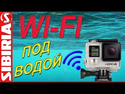 Wi Fi через воду Подводные съёмки Online на рыбалке. Как провести Wi fi под водой wi fi under water