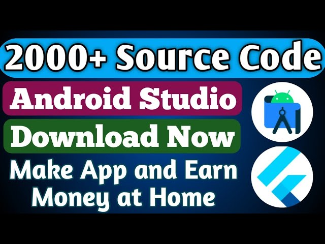2000+ Android Studio App Source code with License || Flutter React Native App  Source code Download - YouTube
