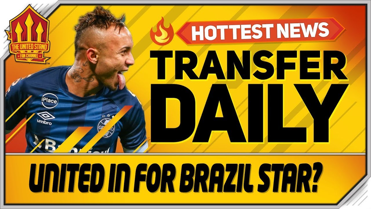 United In For Everton Soares? Man Utd Transfer News